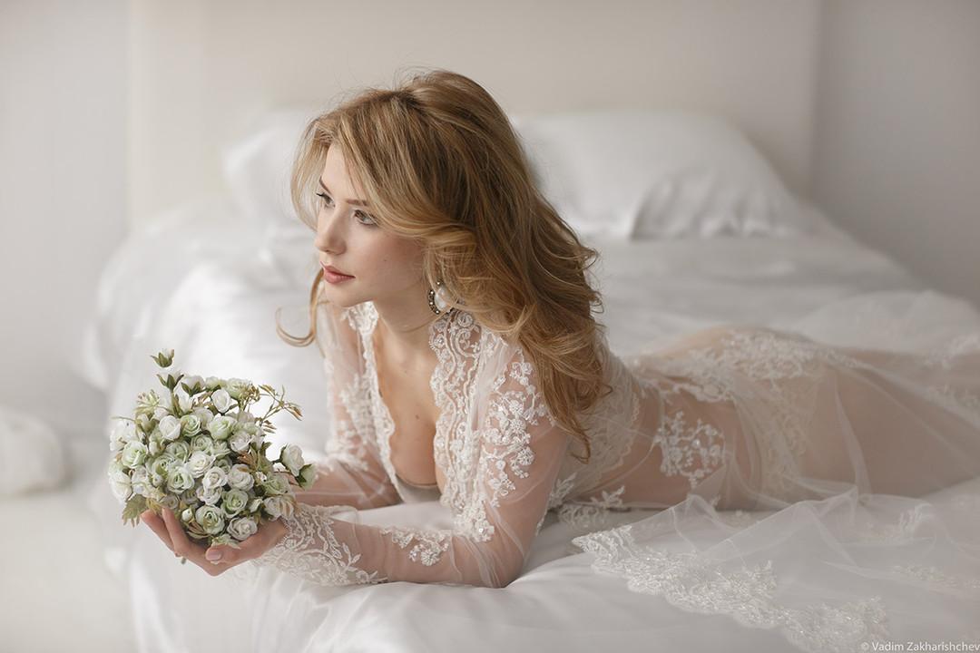 как сфотографировать женский свадебный портрет
