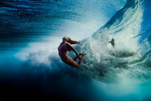как фотографировать под водой