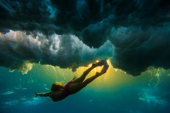 в какое время можно фотографировать под водой