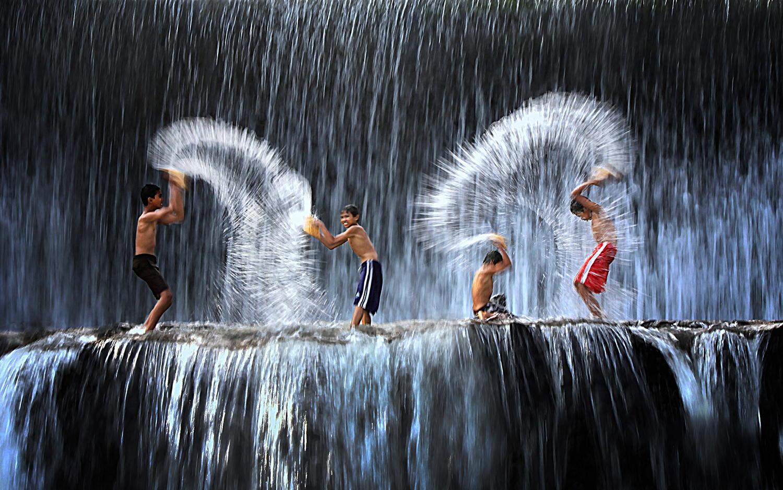 фотографировать водопады с короткой выдежкой