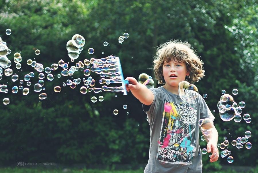 фотосъемка мыльных пузырей