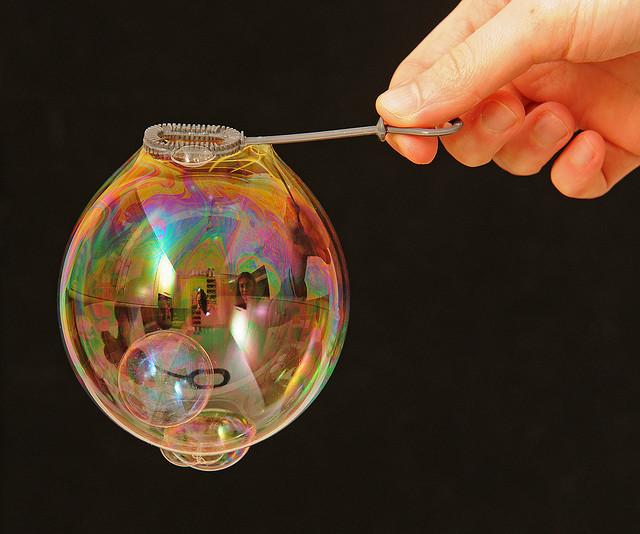 какие должны быть пузыри для фото отражения