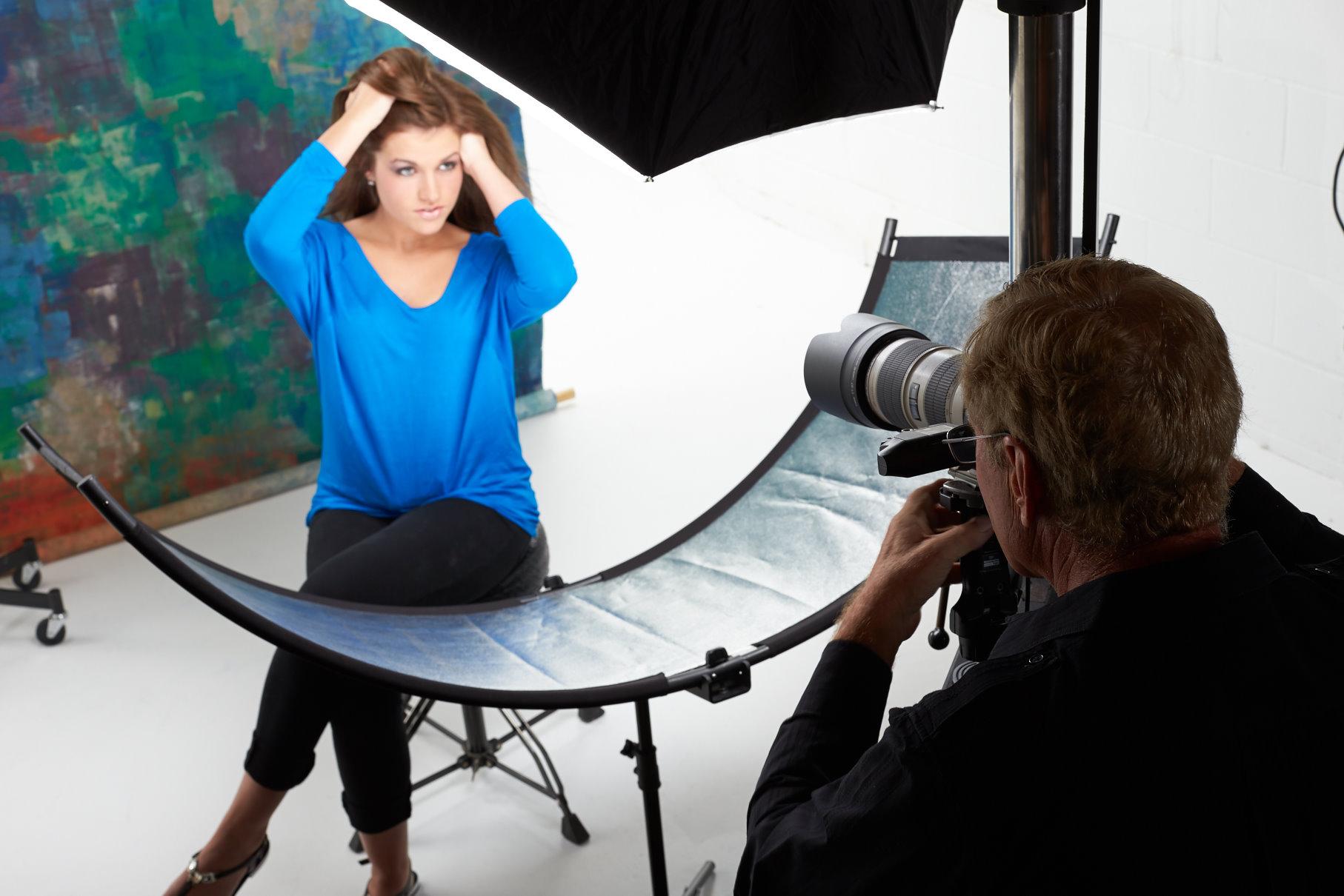 новый светоотражатель для портретной фотосъемки