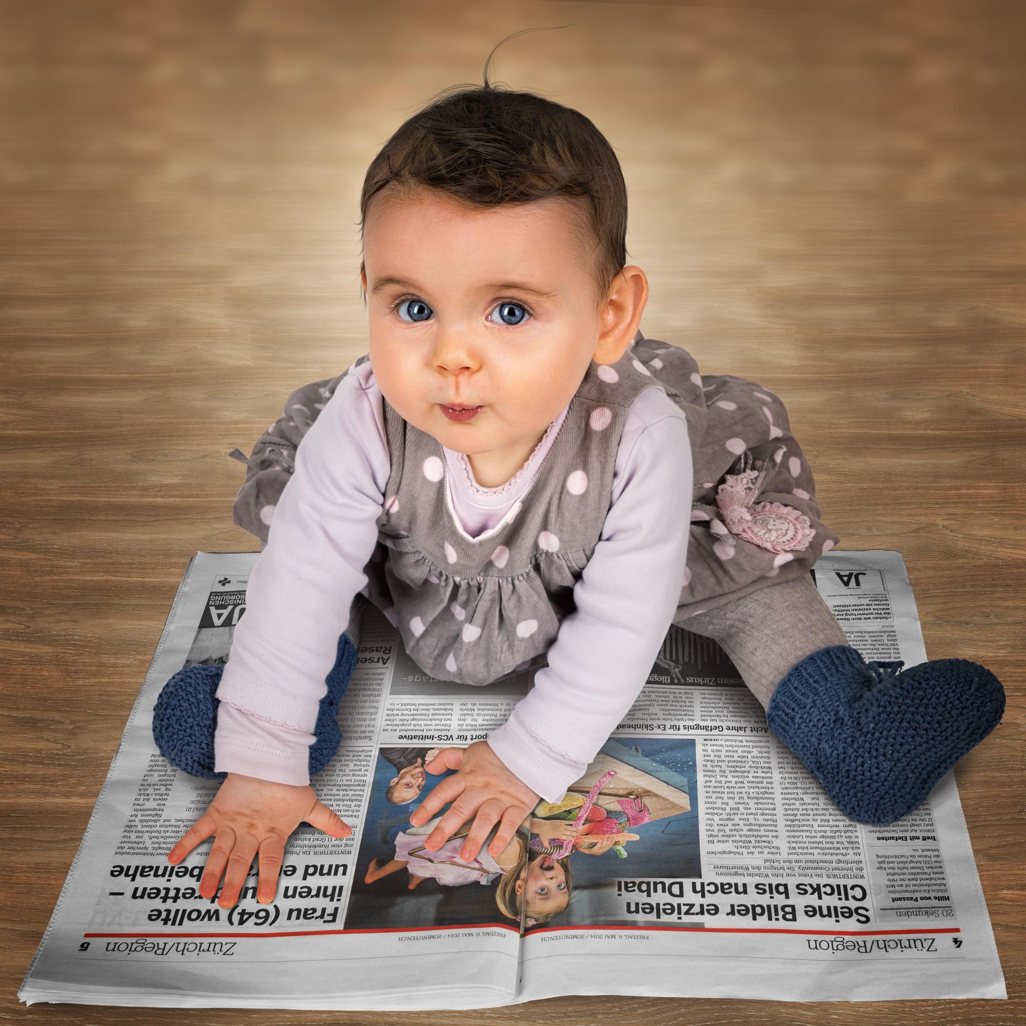 как сделать портрет ребенка