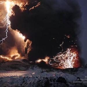 как фотографировать вулканы
