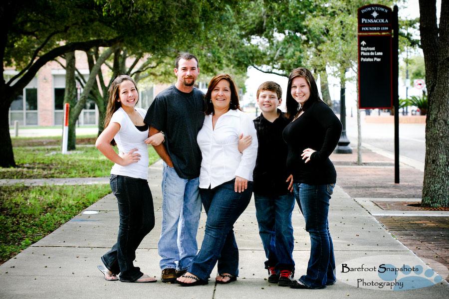правило треугольника для семейных фотографий