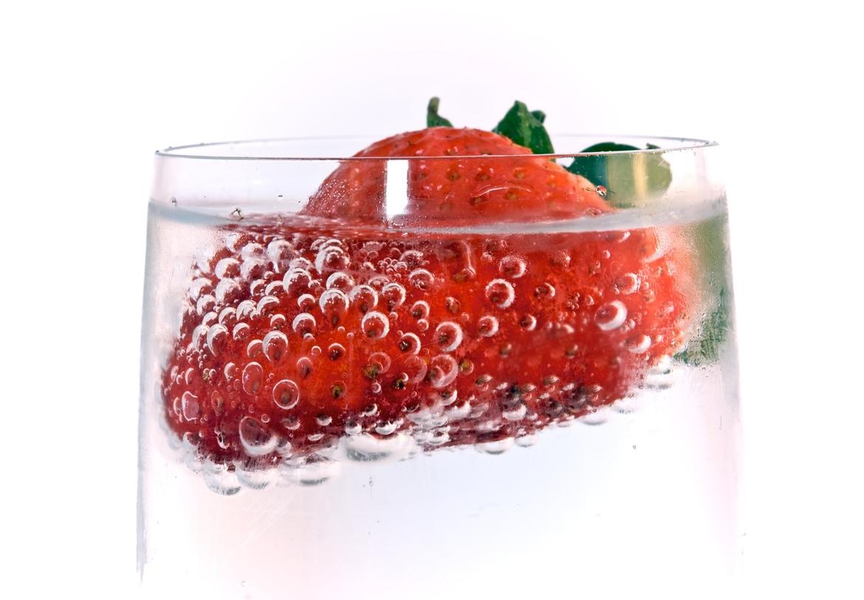 как фотографировать фрукты с пузырьками