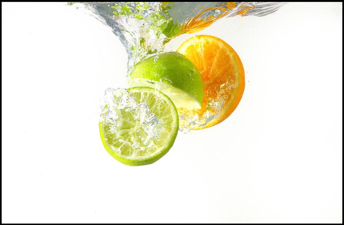 съемка фруктов для рекламной фотографии