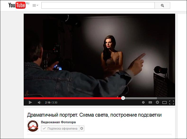 Освещение для видеосъемки