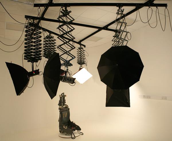 подвесная потолочная система для фотостудии
