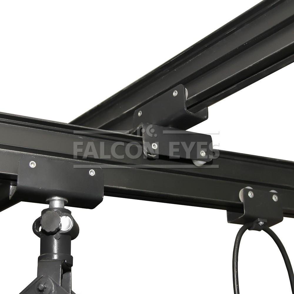 подвижные рельсы для подвесной системы фотостудии