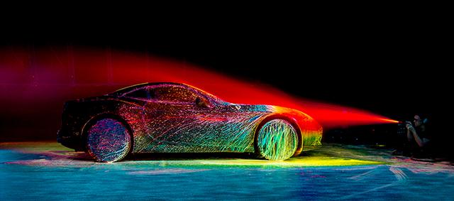 Ferrari взорвали цветом