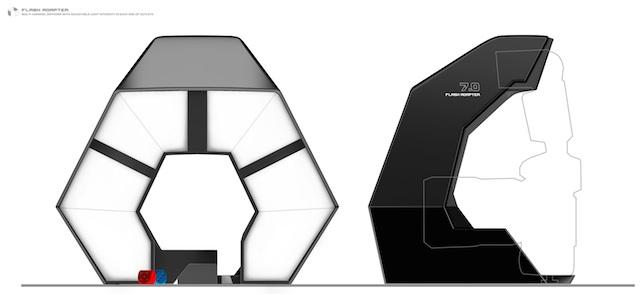 флеш-адаптер для макровспышки