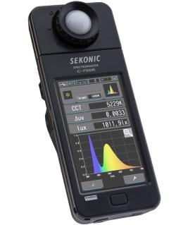 Sekonic Spectromaster C-700 измеряет любой источник света. Впервые!