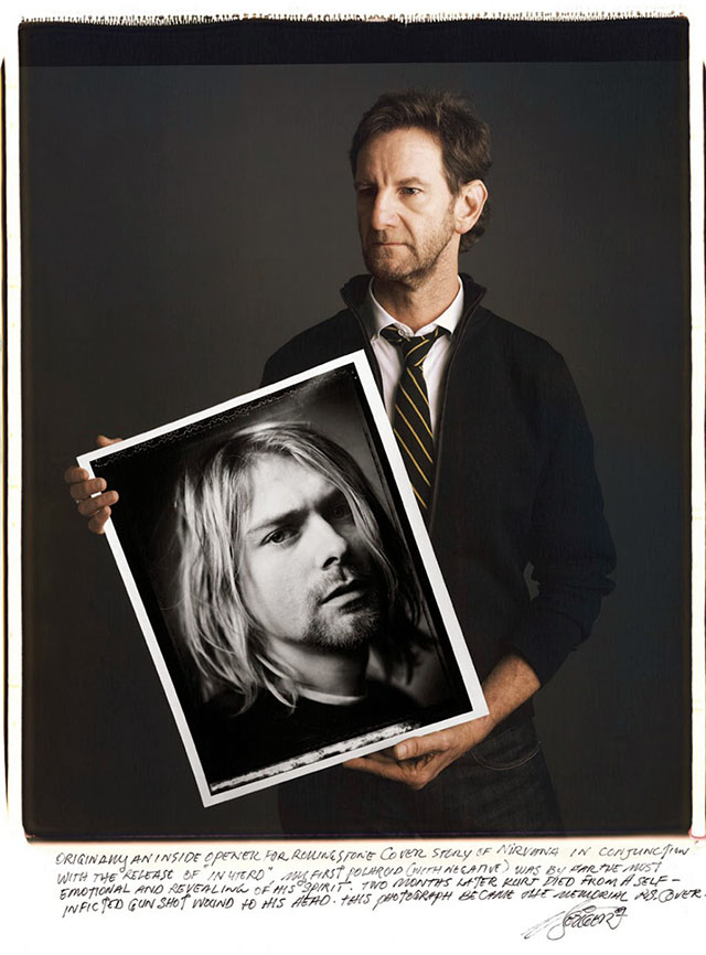 "Mark Seliger and ""Kurt Cobain"""