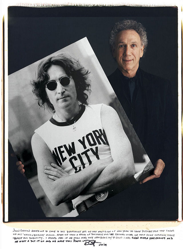 "Bob Gruen and ""John Lennon"""