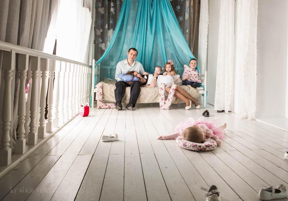 как фотографировать семьи