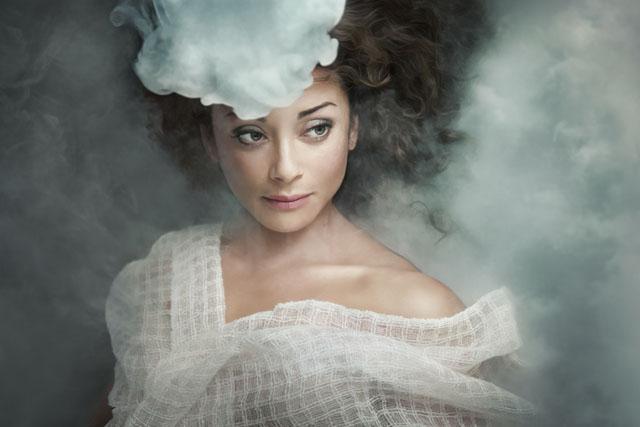 эффект тумана в студии