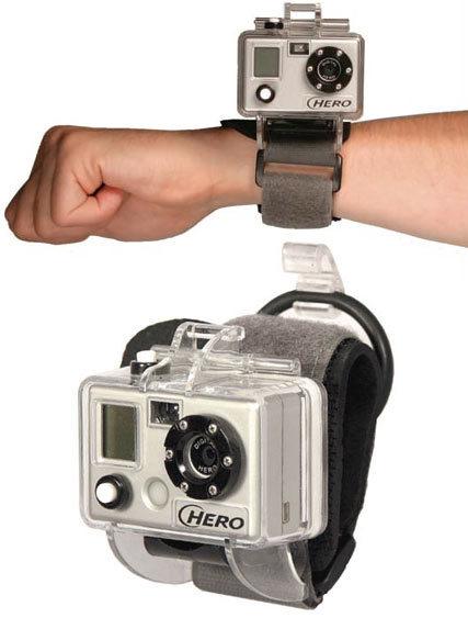 как закрепить камеру GoPro