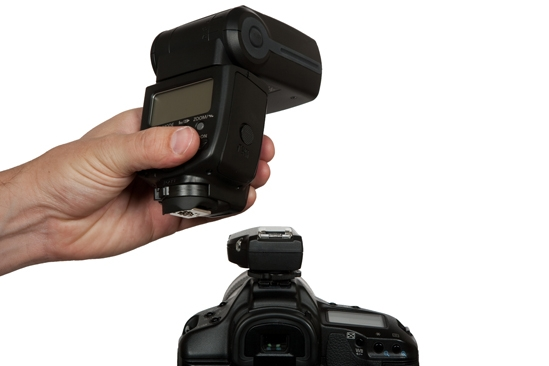 Рассеиватель для вспышки профессионального фотографа