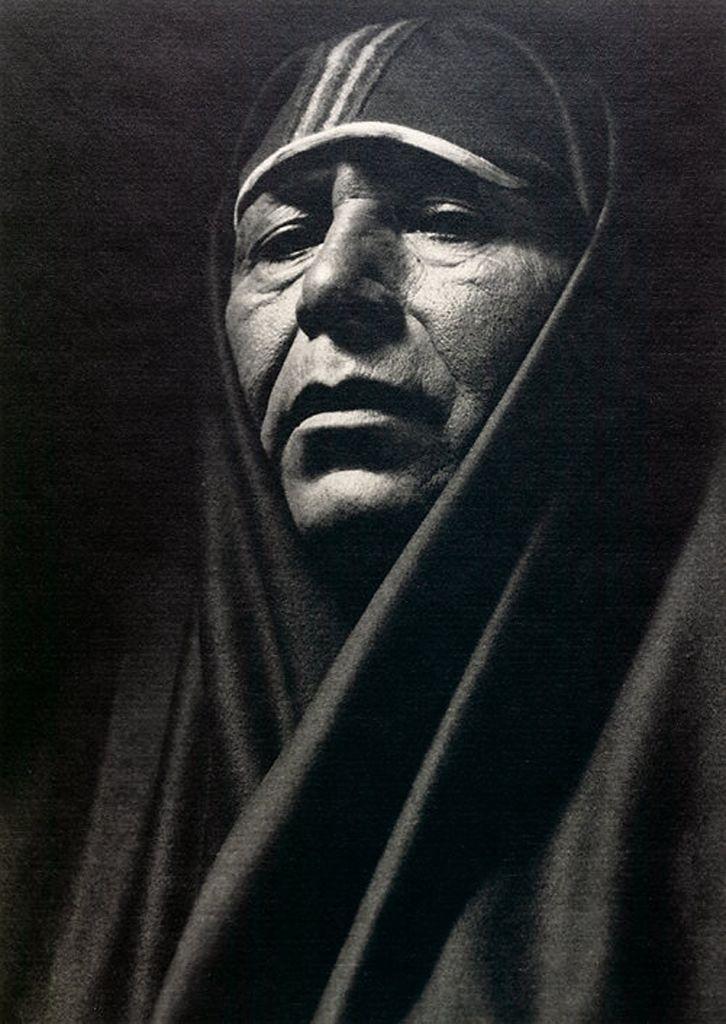 портретная фотография Ансела Адамса