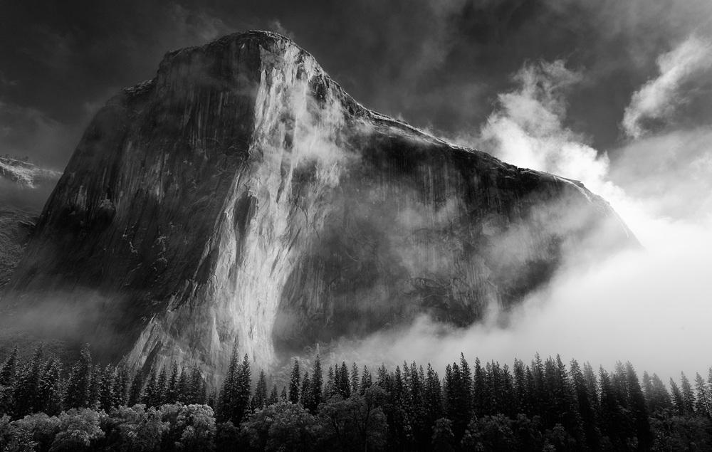 ландшафтная фотография Ансела Адамса