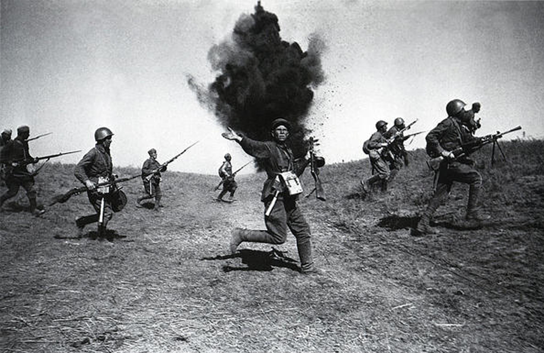 военные фотографии Аркадий Шайхет