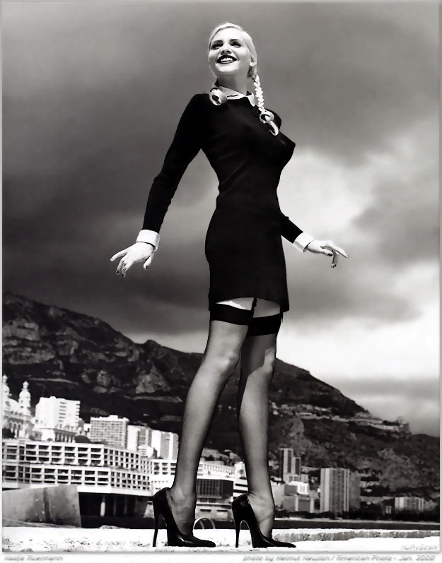 by Helmut Newton