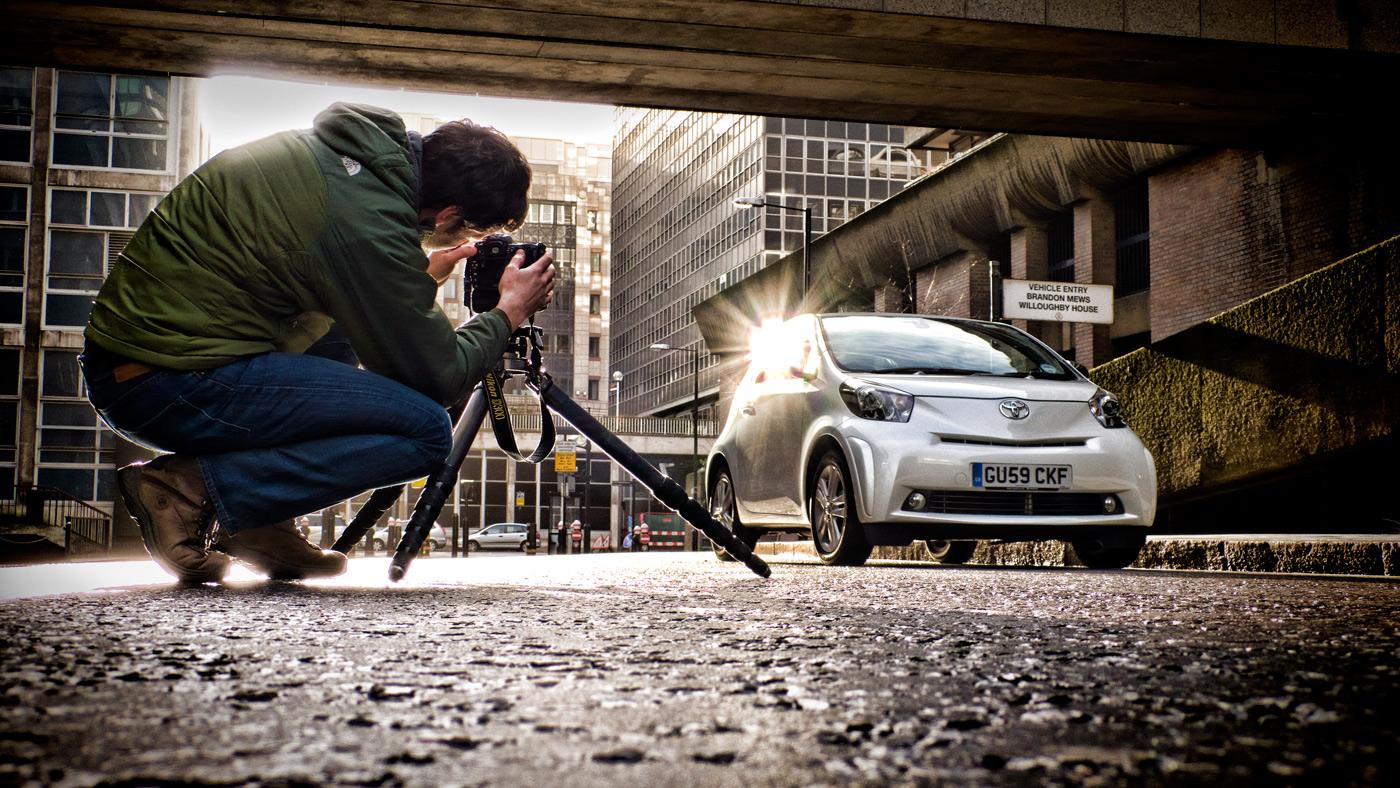 как сфотографировать машину самостоятельно