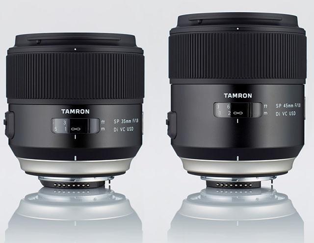 новые объективы Tamron