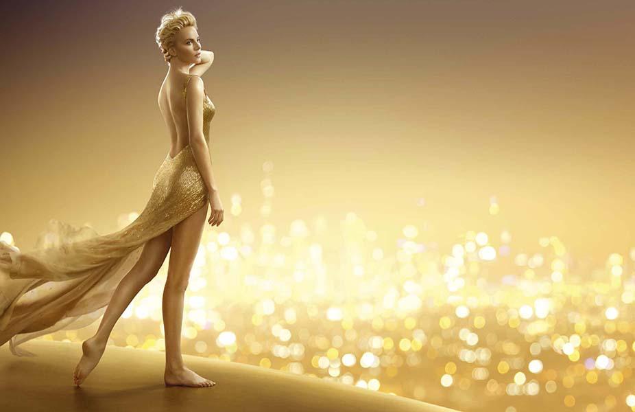 Шарлиз Терон для J'Adore Dior