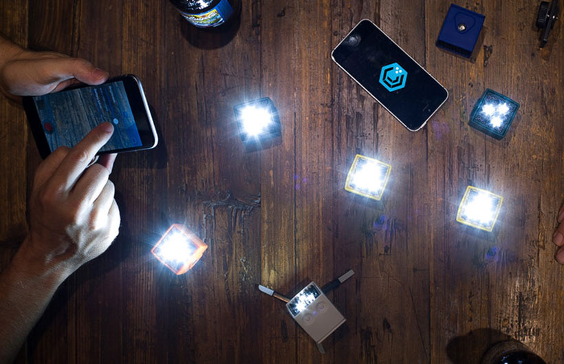 вспышки на смартфоны