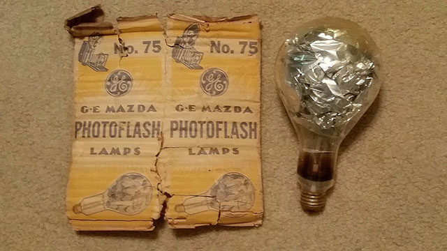 история лампы-вспышки