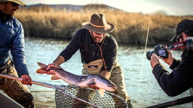 как фотографировать рыбалку