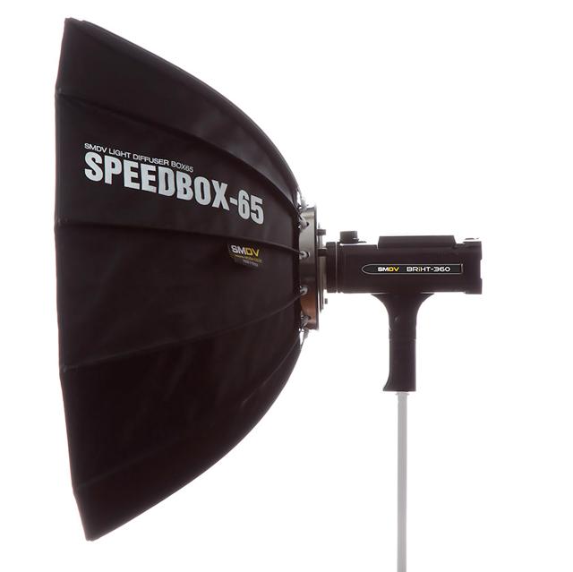 вспышка с быстрораскладным Speedbox