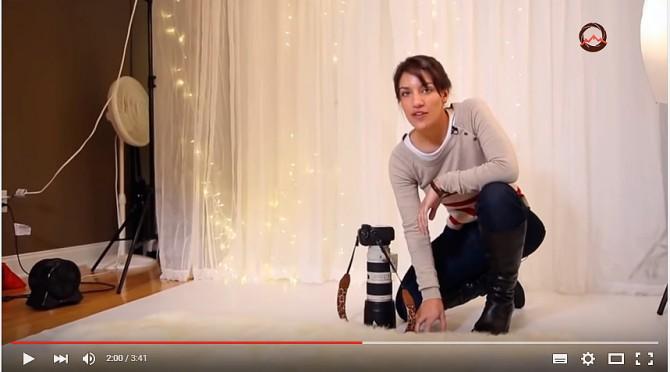 видеоурок Как сделать праздничные новогодние фотографии для семьи и друзей