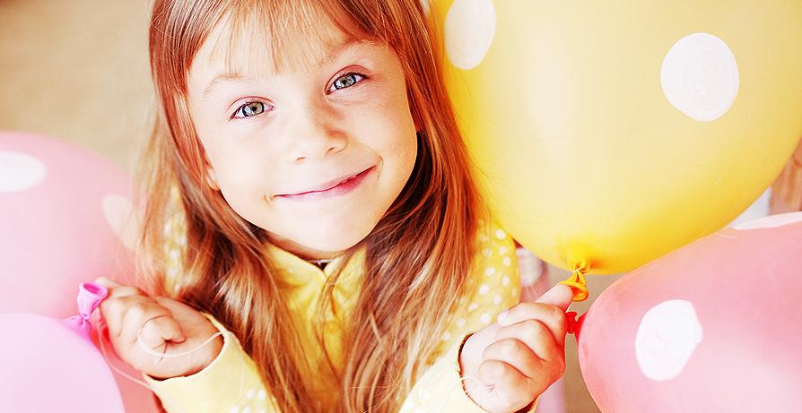 как сделать детские праздничные фотографии