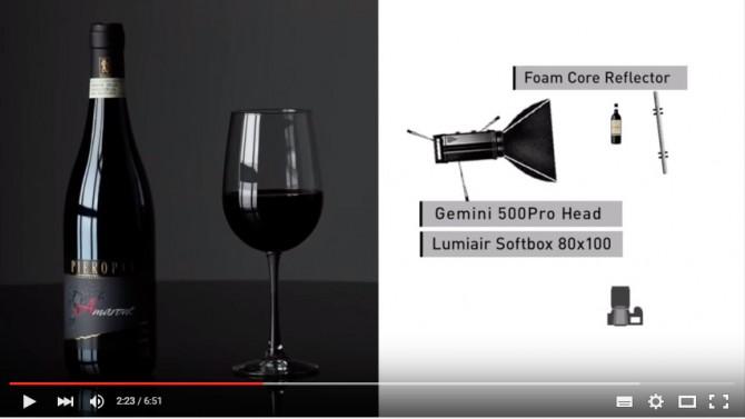 видеоурок как снимать с одним источником света