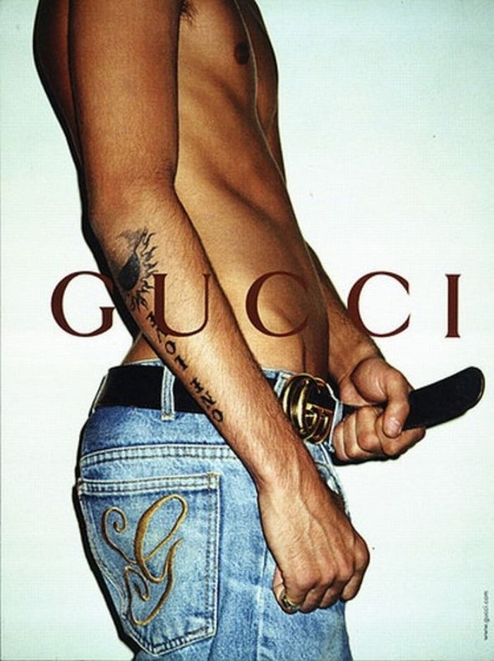Terry Richardson для кампании Gucci