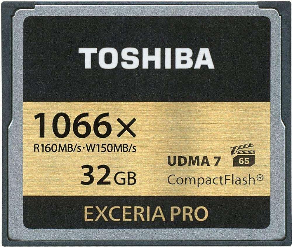 карта памяти Toshiba Exceria Pro
