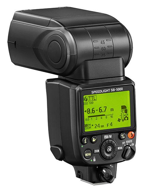 новинка Nikon SB-5000 Speedlight
