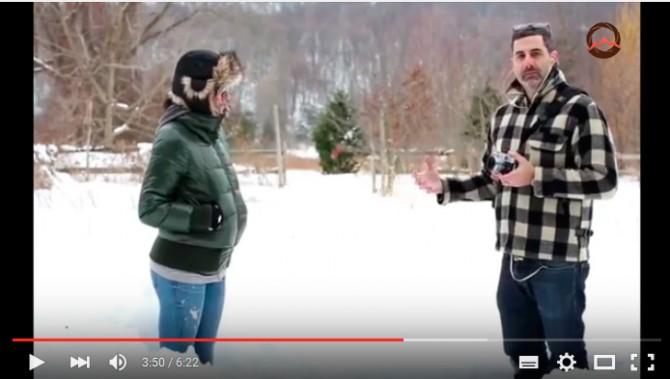 Видеоурок «Советы по съемке зимой»