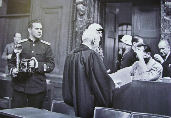 Евгений Халдей Нюрнбергский процесс