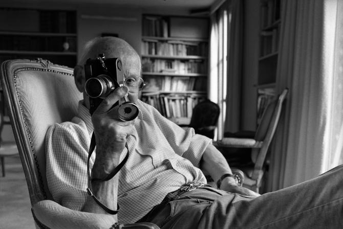 Henri Cartier-Bresson портрет