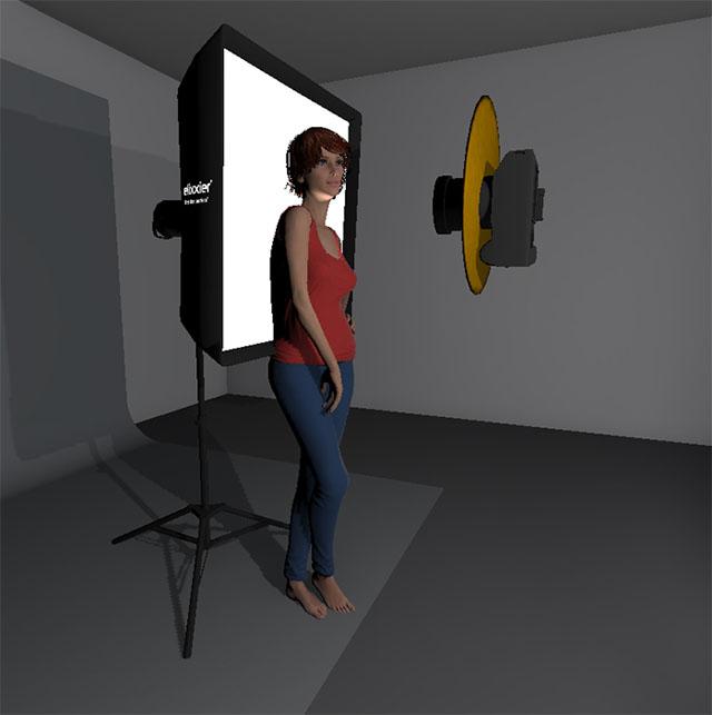 схема света для портрета