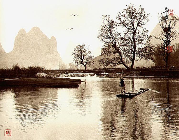 китайский фотограф Лан Цзиншань