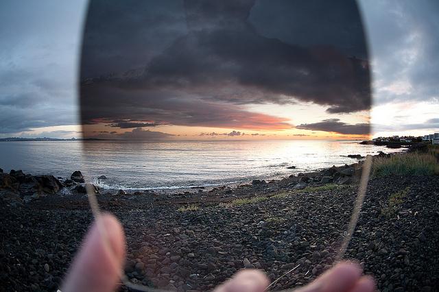 поляризационный фильтр для ландшафтной фотографии
