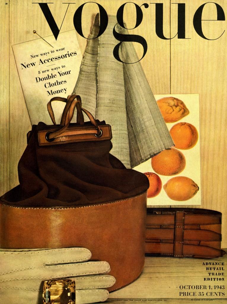 Ирвин Пенн. Обложка журнала Vogue. 1943 год