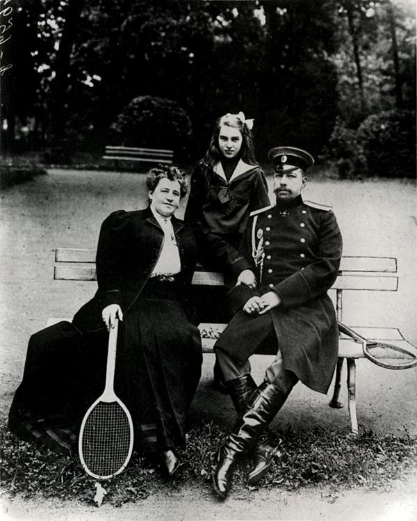 К.Булла. Портрет царской семьи
