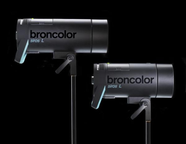 Студийная вспышка Broncolor Siros L с питанием от аккумулятора